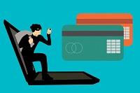 hacker and credit cards