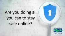 Are you doing all you can to stay safe online?